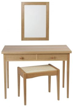 Cotswold Dressing Table Mirror and Stool 564_705_559