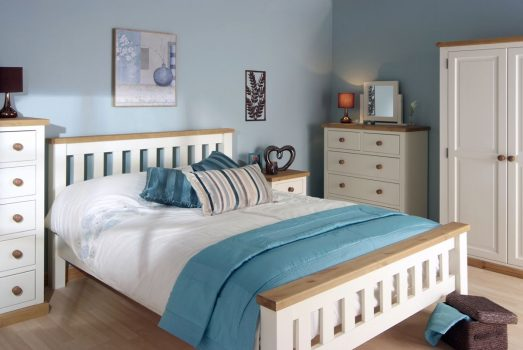 Devon Chunky Pine Painted Roomset