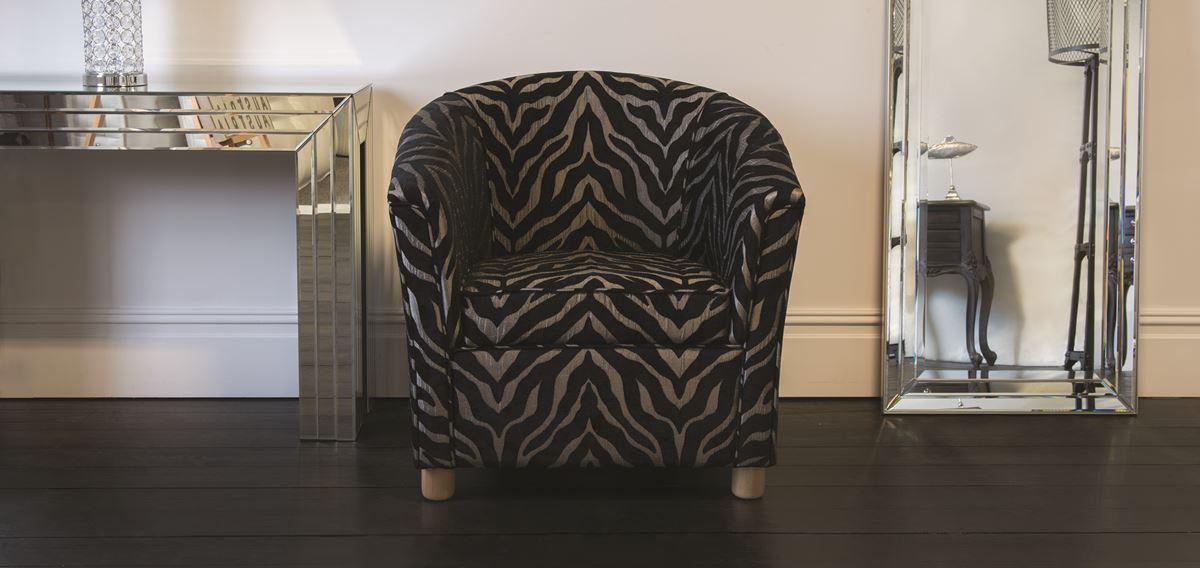 Hilton tub chair bramley bed centre for Hilton sofa bed