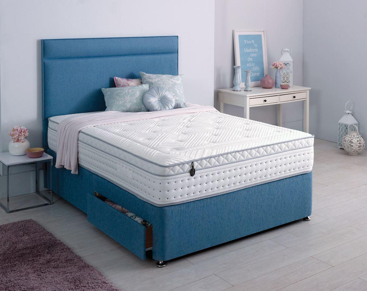 Salus Contempo Divan Set Lv3000 Bramley Bed Centre