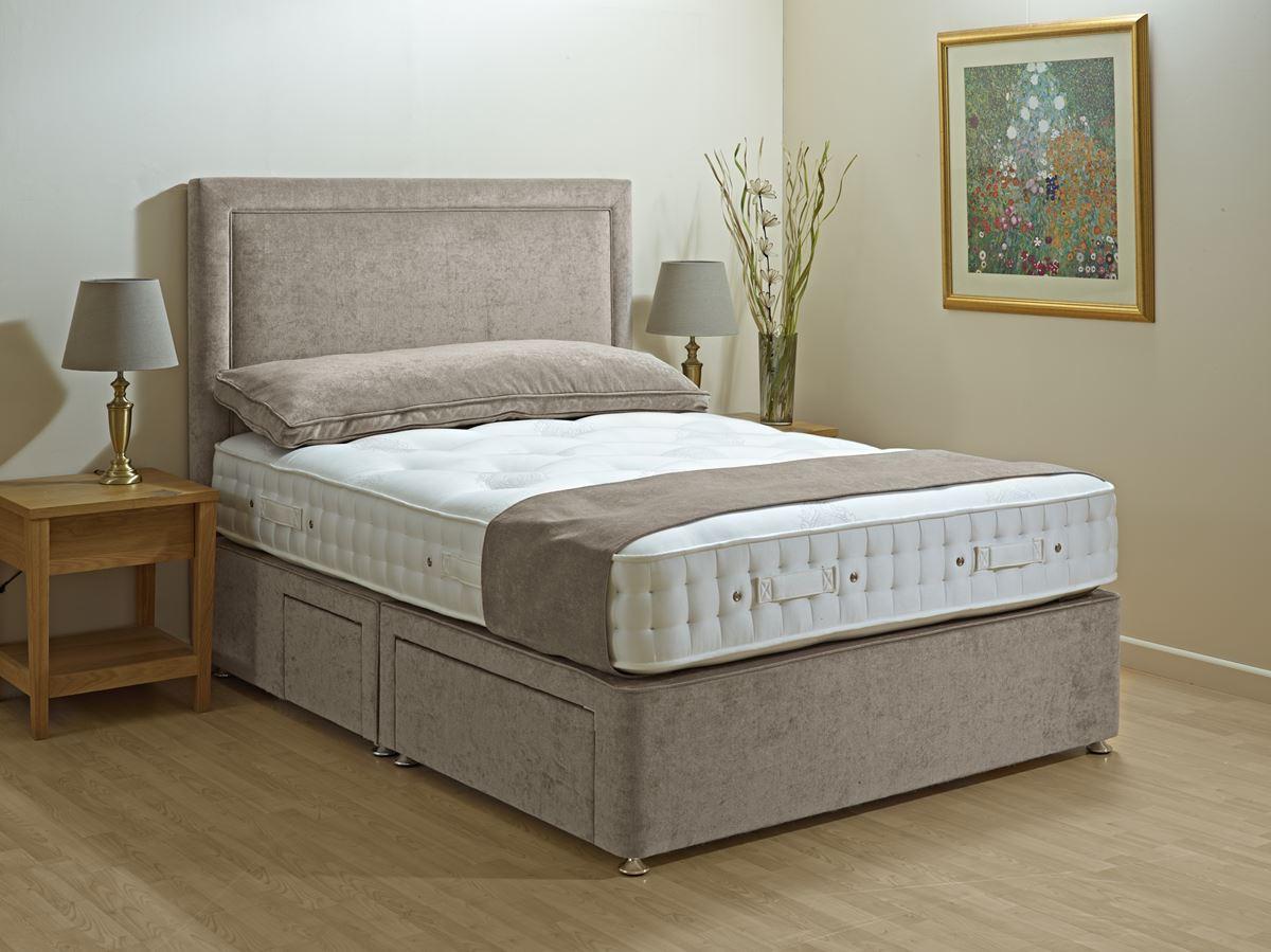 Savoy Superb Divan Set 1400 Bramley Bed Centre