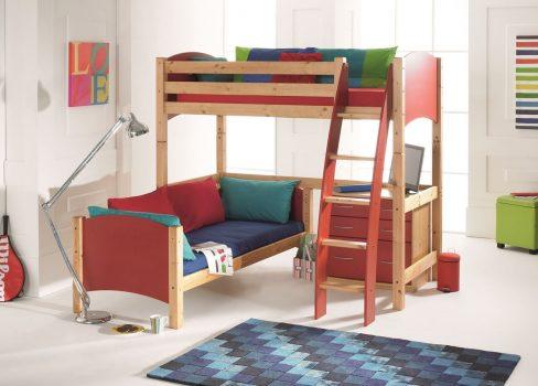 Scallywag High Sleeper Bed 116987 RT
