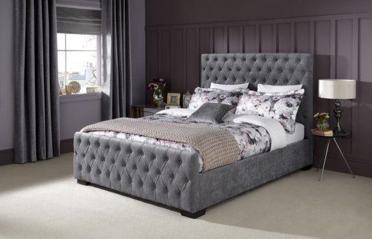 Serene Lily Steel Bedstead